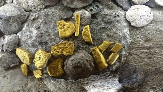 Geger Temuan Harta Karun Peninggalan Kerajaan Sriwijaya