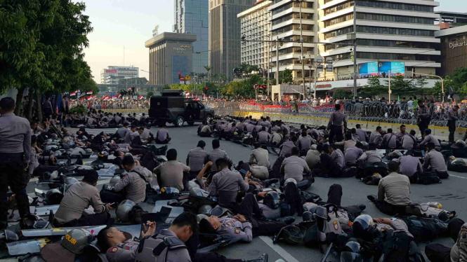Polisi kawal aksi massa 21 Mei 2019