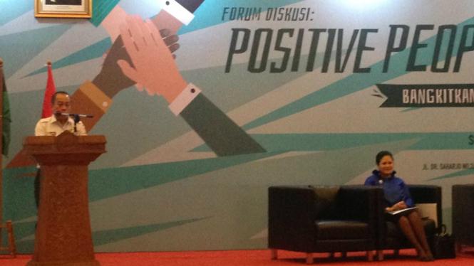 Diskusi Positive People with people power tanpa turun ke jalan