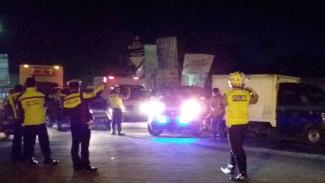 Penjagaan di perbatasan Garut diperketat usai penangkapan terduga teroris.