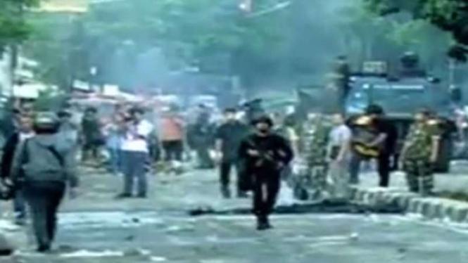 Kondisi di Jalan KS Tubun Rabu pagi