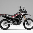 Honda CRF250 Rally warna Extreme Black