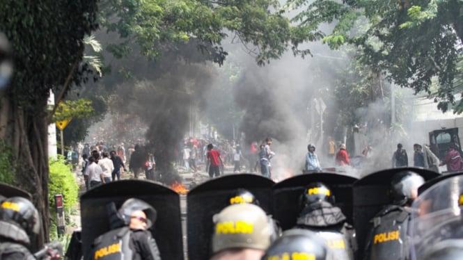Demo Rusuh di Petamburan