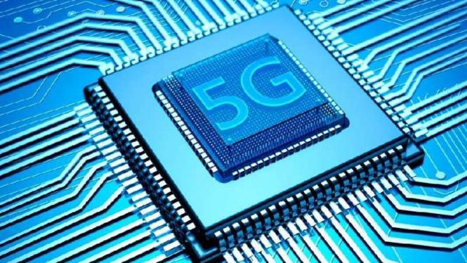 Ilustrasi teknologi 5G.