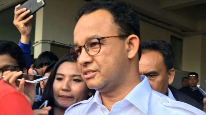 Gubernur DKI Anies Baswedan, jamin Jakarta aman hari ini, 22 Mei 2019.