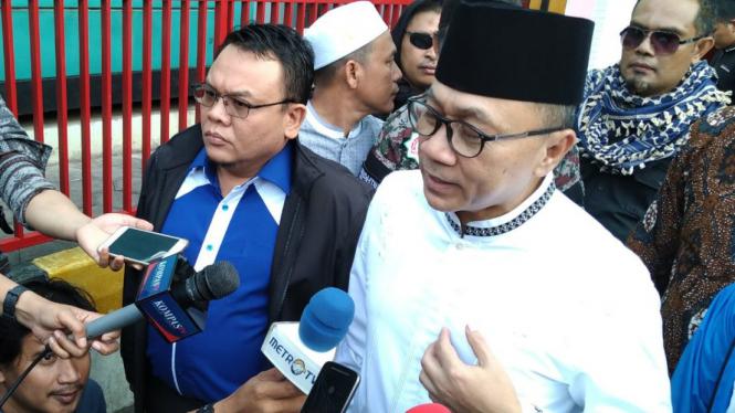 Ketua Umum DPP PAN sekaligus Ketua MPR Zulkifli Hasan