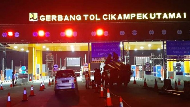 Gerbang Tol Cikampek Utama 1.
