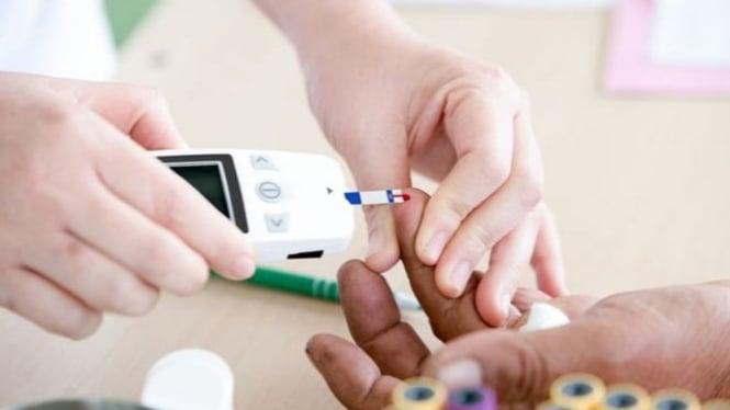 Ilustrasi penderita diabetes.