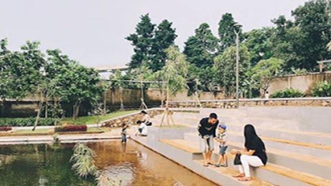 Taman Apung Ciracas.