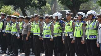 400 Polisi Kawal Pemakaman Ustaz Arifin Ilham
