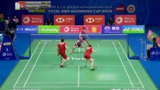 Zheng Siwei/Huang Yaqiong vs Mathias Christiansen/Sara Thygesen