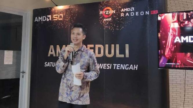Direktur Sales dan Marketing AMD ASEAN, Ryan Sim.