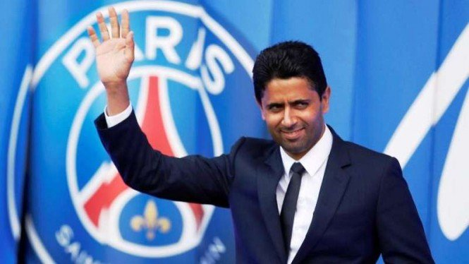 Presiden Paris Saint-Germain (PSG), Nasser Al-Khelaifi