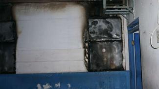 Pos polisi Fajar Indah di Solo terbakar