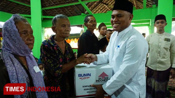 Semen Indonesia Salurkan 10 Ribu Paket Sembako kepada Masyarakat Tuban