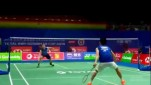 Kento Momota Vs Lee Zii Jia di Sudirman Cup 2019.