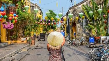 Ilustrasi wisata Vietnam.