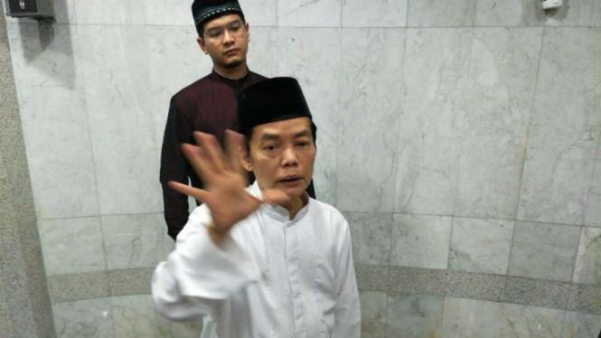 Sekretaris Dewan Pengurus masjid, Ismed Hasan Putro.
