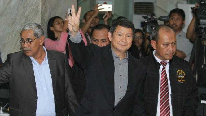 Tim Kuasa Hukum Prabowo-Sandi saat di Mahkamah Konstitusi untuk ajukan Gugatan Pemilu 2019.