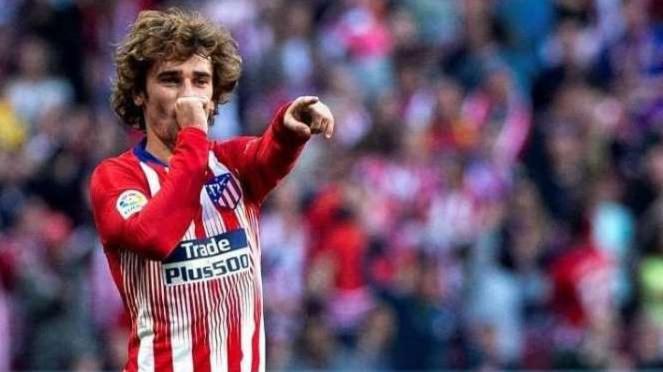 Penyerang Atletico Madrid, Antoine Griezmann
