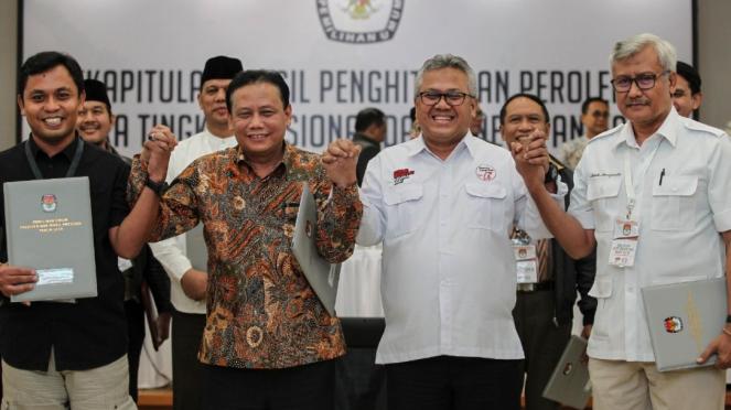 Sorot 554 Rekapitulasi dan Penetapan Hasil Pemilu 2019
