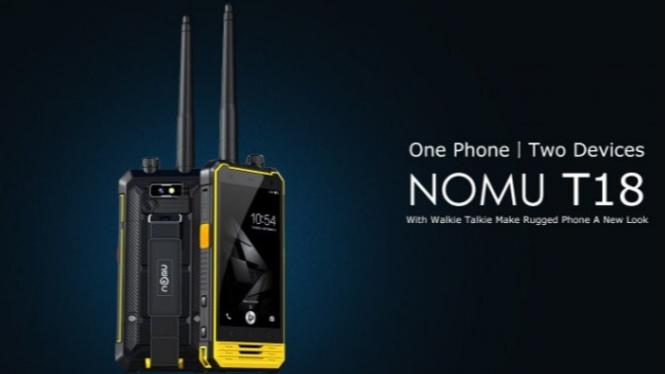 Smartphone Nomu T18