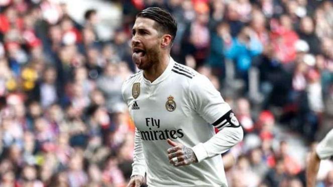 Kapten Real Madrid, Sergio Ramos