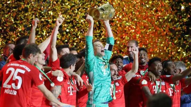 Bayern Munich juara DFB-Pokal (Piala Jerman) 2018/2019