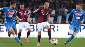Pertandingan Serie A 2018/2019 antara Bologna kontra Napoli