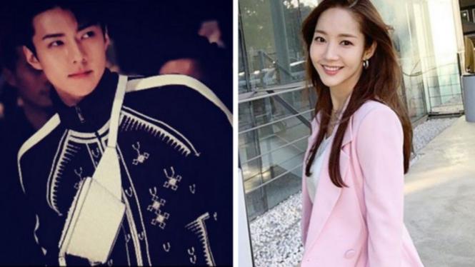 Sehun EXO dan Park Min Young