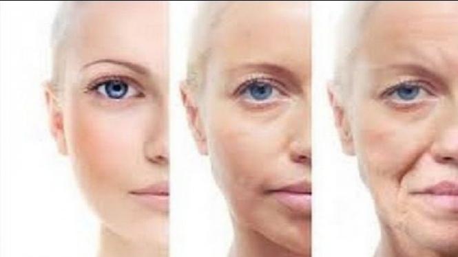 Ilustrasi proses penuaan