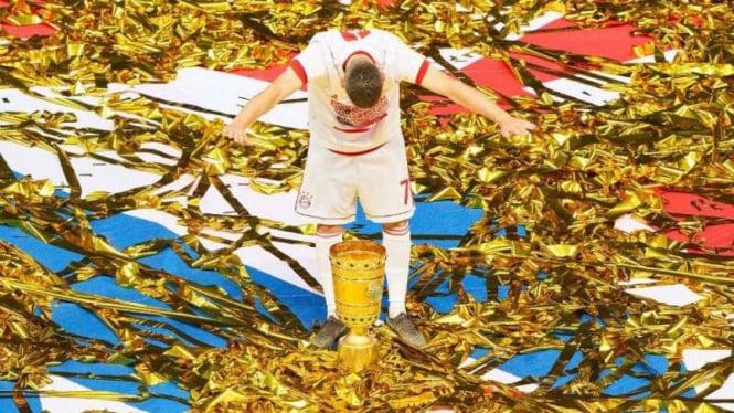 Winger Bayern Munich, Franck Ribery.