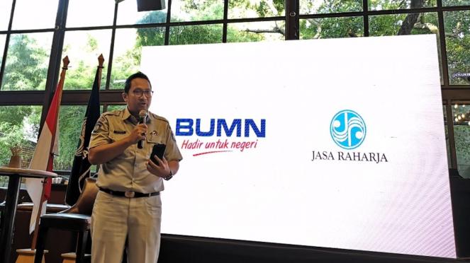 Sekretaris Perusahaan Jasa Raharja Harwan Muldidarmawan