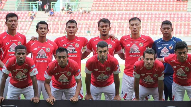 Skuat Semen Padang di Liga 1 2019