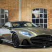 Aston Martin DBS Superleggera edisi On Her Majesty s Secret Service