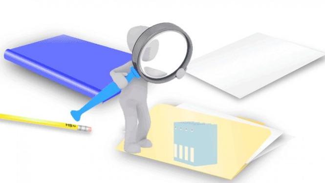 Mencari file yang tersembunyi.
