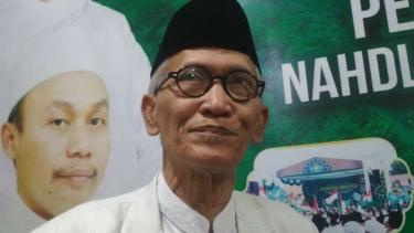 Rais Aam NU Miftahul Akhyar di kantor NU Jawa Timur di Surabaya pada Rabu malam, 29 Mei 2019.