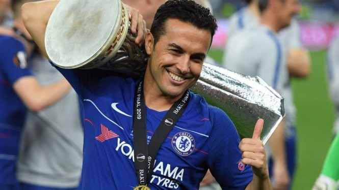 Winger Chelsea, Pedro Rodriguez.