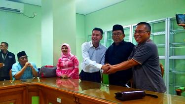 Kunjungan Raffi Ahmad dan tim ANTV ke MUI