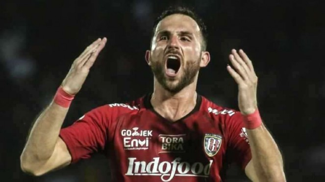 Penyerang Bali United, Ilija Spasojevic