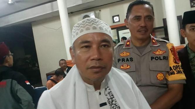 Ketua Majelis Ulama Indonesia Kota Depok Dimyati Badruzzaman