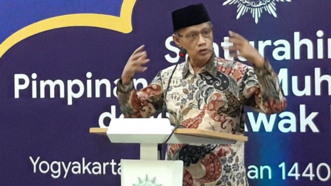 Ketua Umum Pimpinan Pusat (PP) Muhammadiyah, Haedar Nashir