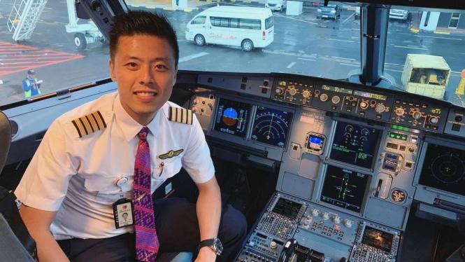 Pilot Capt. Vincent Raditya
