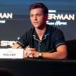 Tom Holland saat Konferensi Pers Spider-Man: Far from Home di Bali