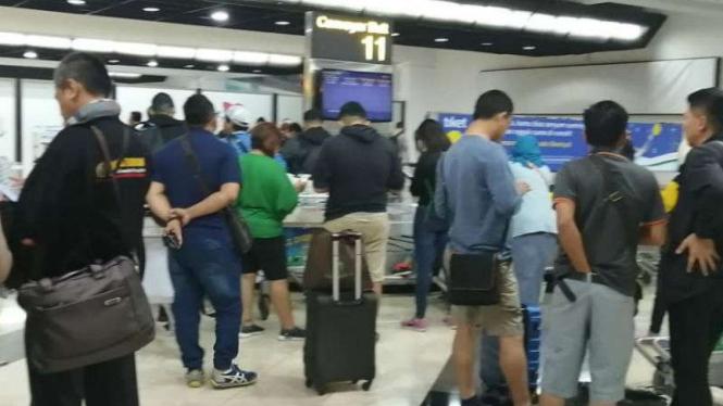 Mudik 2019 di Bandara Soekarno-Hatta