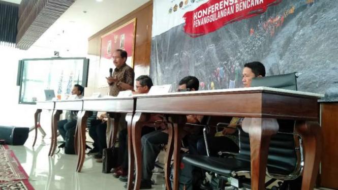 Deputi Bidang Pencegahan dan Kesiapsiagaan BNPB, Wisnu Widjaja