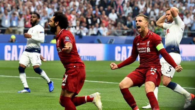 Gebuk Tottenham Liverpool Juara Liga Champions