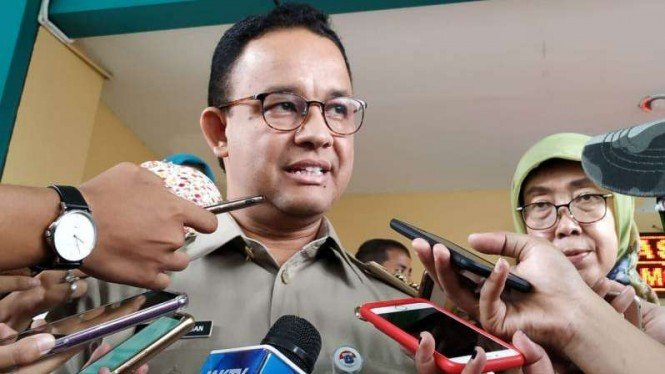 Gubernur DKI Jakarta Anies Baswedan.