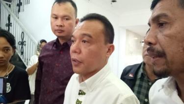 Direktur Advokasi dan Hukum pasangan Prabowo Subianto-Sandiaga Uno, Sufmi Dasco Ahmad