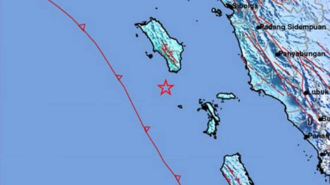 Badan Meteorologi, Klimatologi, dan Geofisika melaporkan bahwa gempabumi berkekuatan magnitudo 5,5 mengguncang wilayah Kabupaten Nias Selatan, Sumatera Utara, pada Senin siang, 3 Juni 2019.